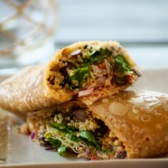 Chipotle Black Bean & Quinoa Wraps