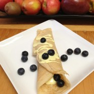 Blueberry Crepes by: B. Williams