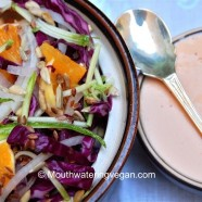 Zesty Cabbage & Orange Salad