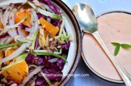 Zesty Cabbage & Orange Salad