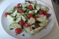 Cucumber Tomato Salad by: M. Solomon