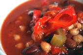Vegan Three-Bean Chili