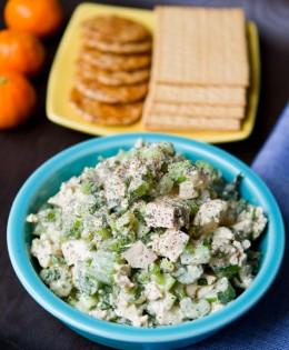 Easy Tofu Crunch Salad
