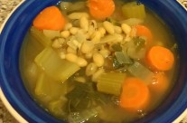 Savory White Bean Soup with Collard Greens by B. Sanders