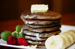 Grandma's Buckwheat Pancakes